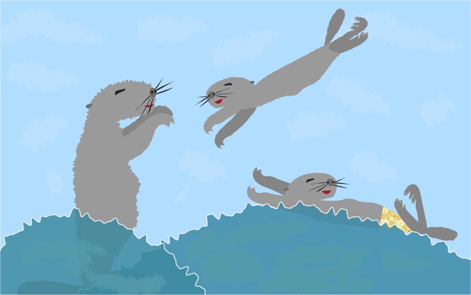 Relaxte otters versus deadline