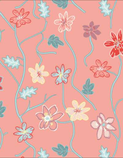 Modern Indian Florals
