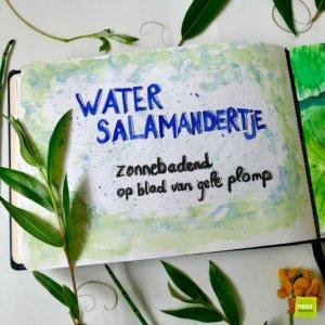 nature journal Watersalamander